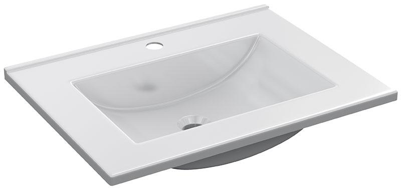 Lavabo de 60x45 PMMA blanco