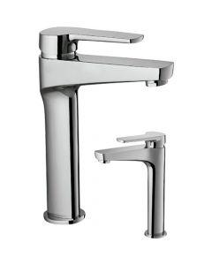 Grifo monomando para lavabo caño alto Borrás NYK17512C