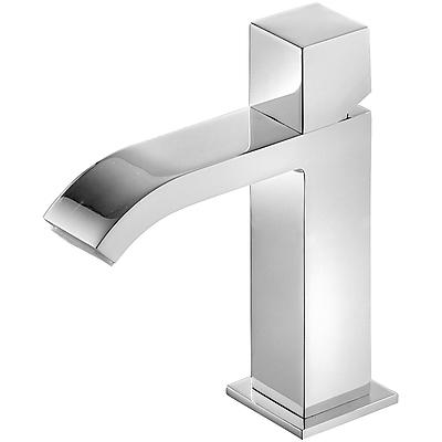 Grifo Monomando lavabo con caño cascada. - Tres 00610102