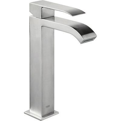 Grifo Monomando lavabo con caño cascada.  - Tres 00661001ACD