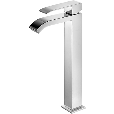 Grifo Monomando lavabo con caño cascada. - Tres 00681001