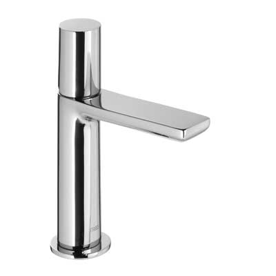 Single lever washbasin mixer and automatic drain - Tres 06110303D