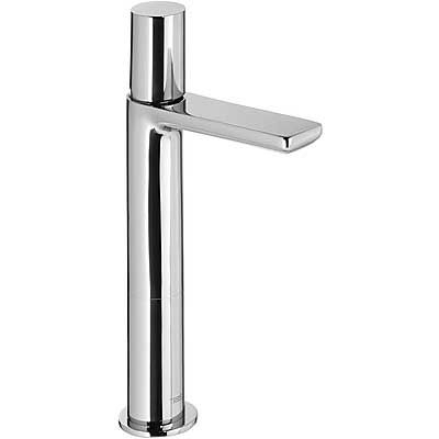 Single lever washbasin mixer with base extension - Tres 06110304