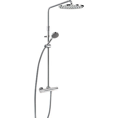 Wall thermostatic shower mixer MAX - Tres 06121001