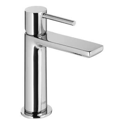 Single lever washbasin mixer and automatic drain - Tres 06210303D