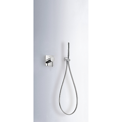Concealed shower set MAX with water shut off and flow control - Tres 06217703