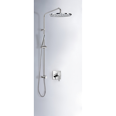 Built-in MONO-TERM® for showers with water shut off and flow control - Tres 06218008