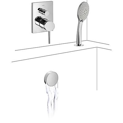 MONO‑TERM® de empotrar baño‑ducha (2vías) - Tres 06218012