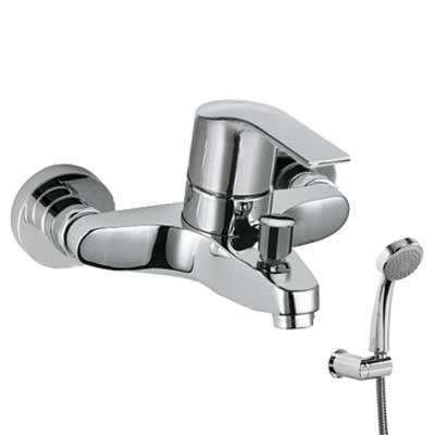 Single lever bath and shower mixer - Tres 06917002