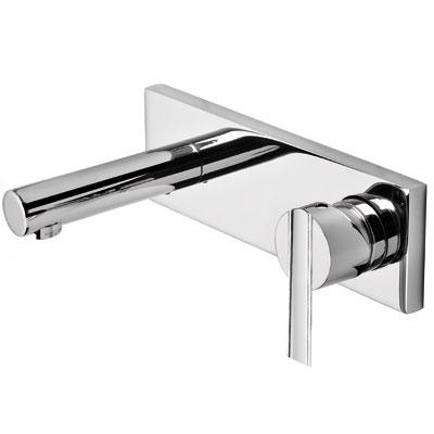 Single lever wall washbasin mixer 160 mm - Tres 08120001