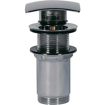 Válvula lavabo sin rebosadero Tapón cuadrado 68x68mm CLICK‑CLACK - Tres 13434120