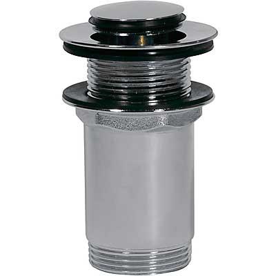 Válvula lavabo sin rebosadero Tapón Ø37mm CLICK‑CLACK - Tres 13454050