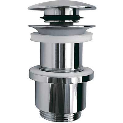 Válvula ciega para lavabo de madera Tapón Ø63,5mm CLICK‑CLACK - Tres 13494010