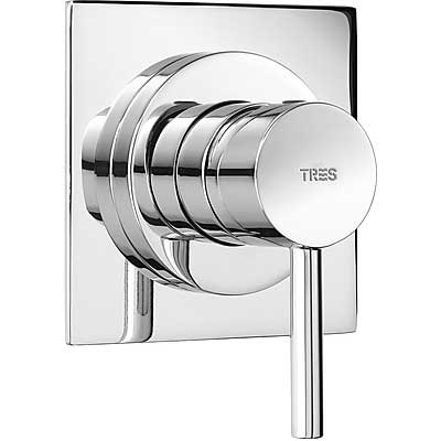 Built-in mixer taps (1 way) - Tres 162177
