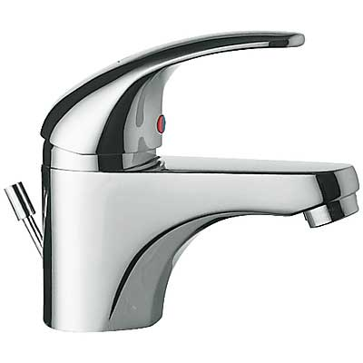 Single lever washbasin mixer ecological - Tres 172104
