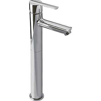 Single lever washbasin mixer with base extension - Tres 181207