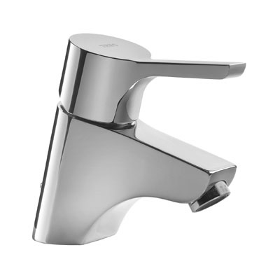 Single lever washbasin mixer ecological and automatic drain - Tres 185104DA