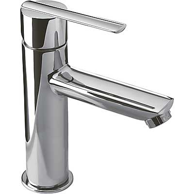 Single lever washbasin mixer and automatic drain - Tres 186203