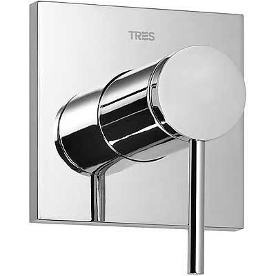 Built-in MONO-TERM for showers with water shut off and flow control - Tres 20117701