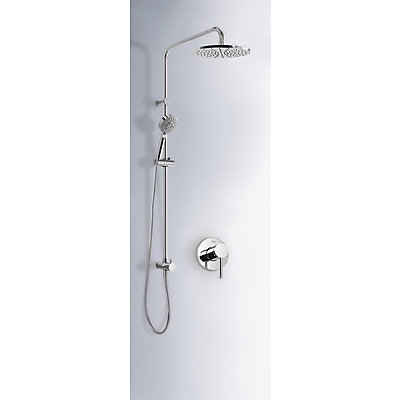Built-in MONO-TERM® for showers with water shut off and flow control - Tres 20117703
