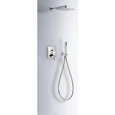 Built-in MONO-TERM® for showers with water shut off and flow control - Tres 20118006