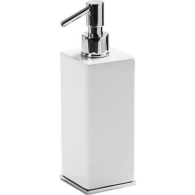 Dosificador jabón de encimera cerámico  - Tres 20263608