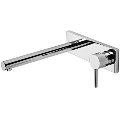Single lever wall washbasin mixer 250 mm - Tres 20320001
