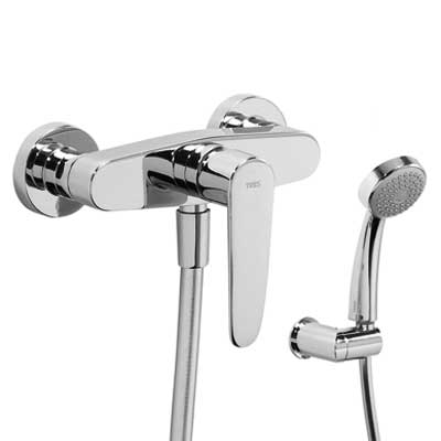 Single lever shower mixer - Tres 20416701