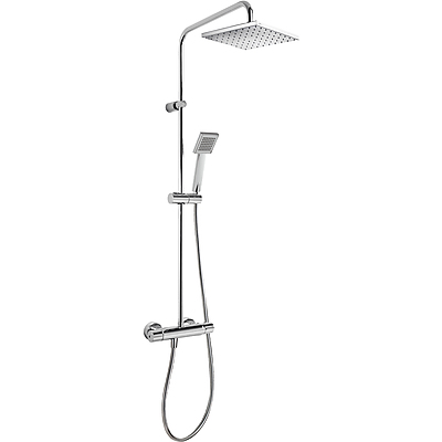 Wall thermostatic shower mixer FLAT - Tres 20438702