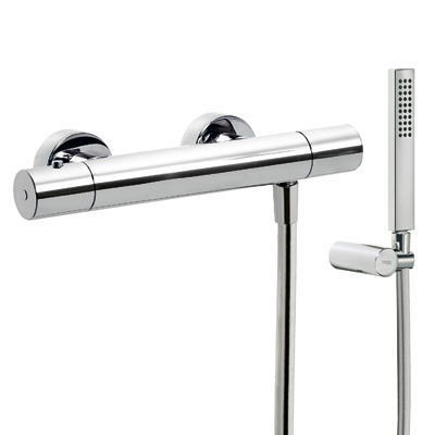 Wall thermostatic shower mixer CLASS - Tres 205164019