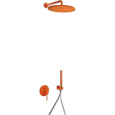 Kit de ducha monomando empotrado - Tres 26298091TNA
