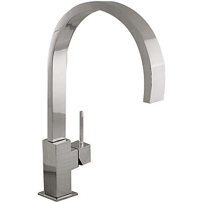 Grifo Monomando fregadero vertical CUADRO caño 35x15mm. - Tres 53049803